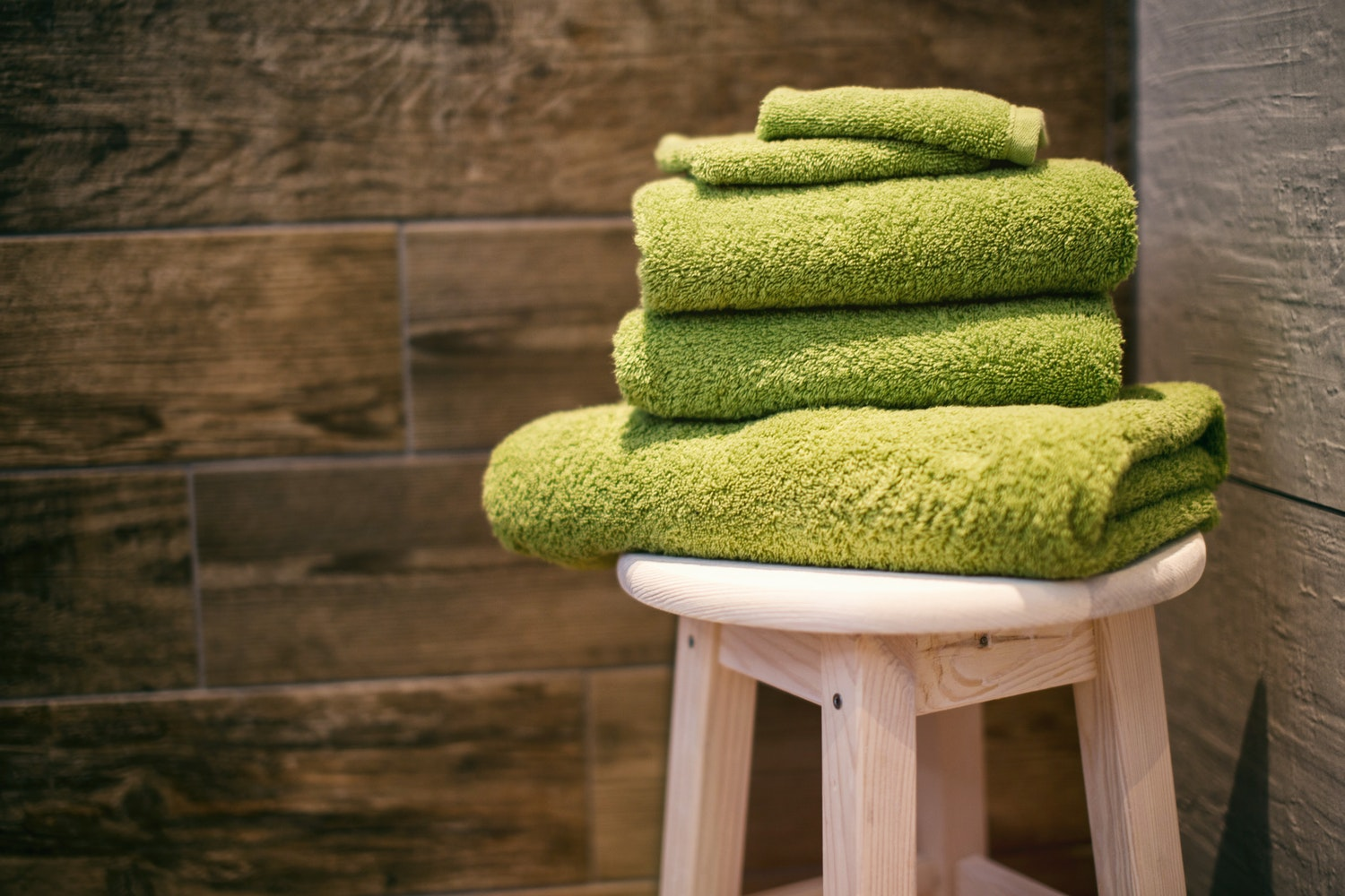 Luscious Pampering Towels and Amenities