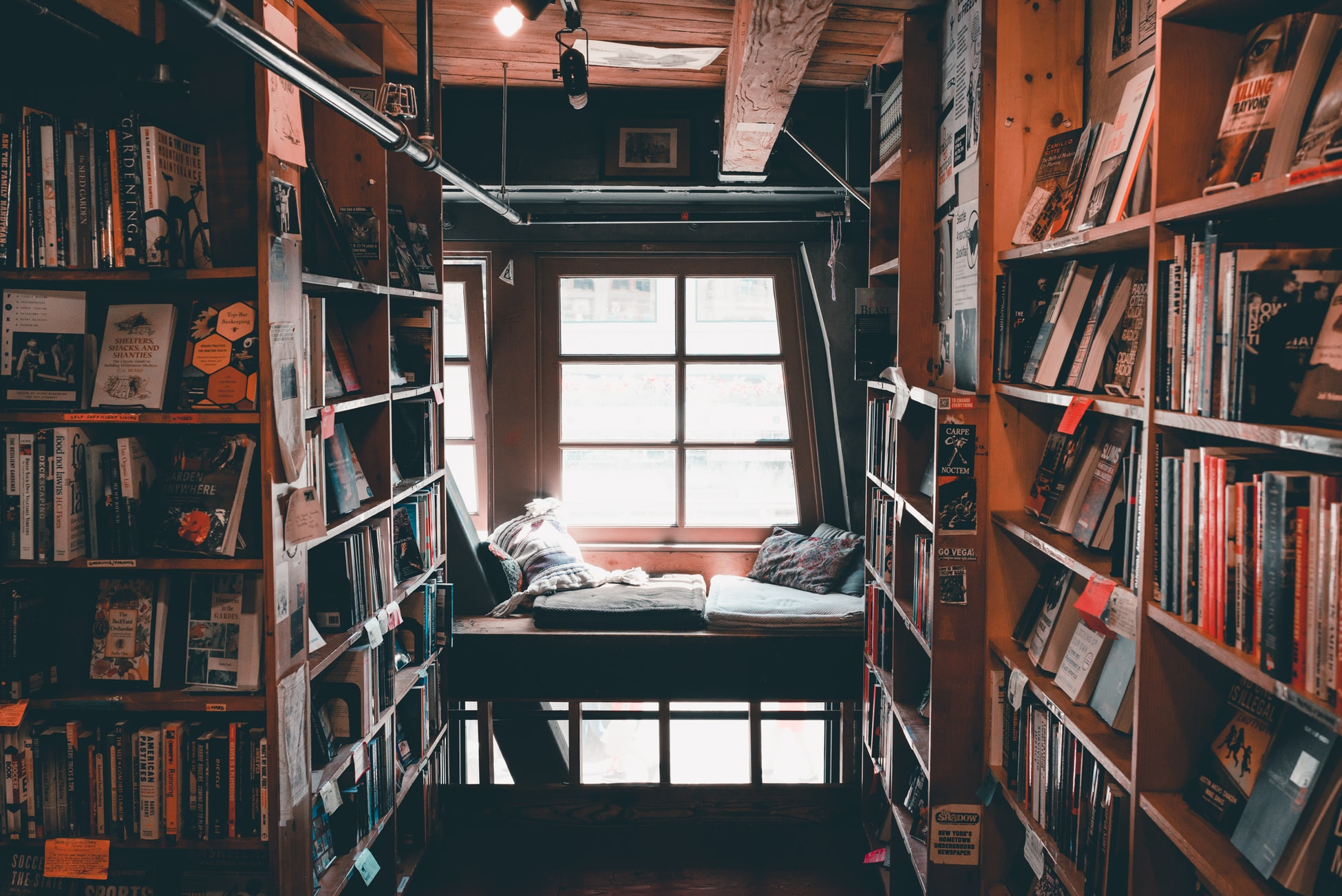room full with books